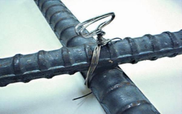 Вязание арматуры для фундамента: правила и схемы