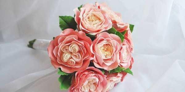 Цветы из фоамирана своими руками