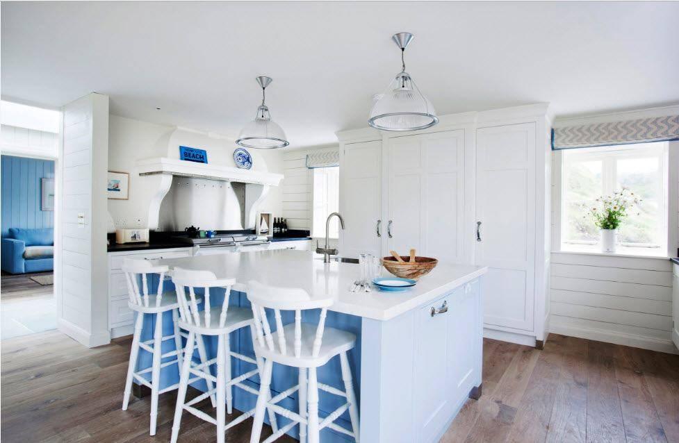 Правильное сочетание цвета и его применение в интерьере кухни, примеры цветовых решений, фото
