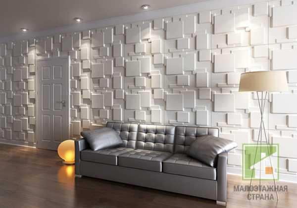 Стеновые пвх панели - виды, примеры интерьеров, 35 фото