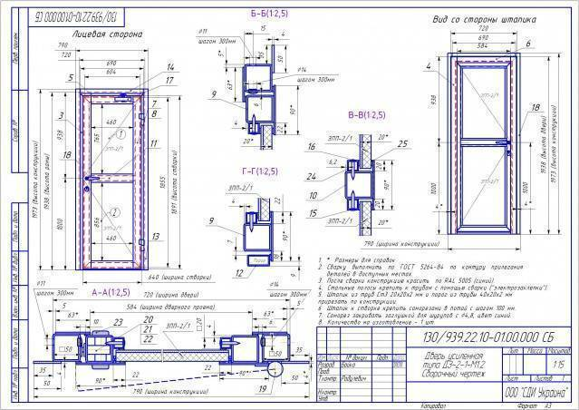 Изготовление металлических дверей (52 фото): как сделать входную группу своими руками, как изготовить железную модель