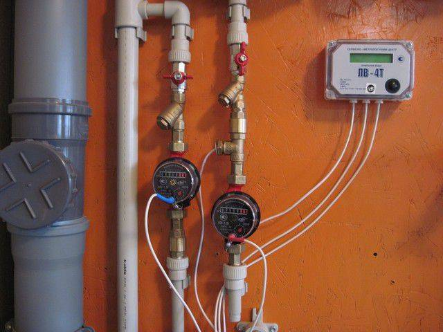 Схема установки счетчика воды своими руками – свой дом мечты