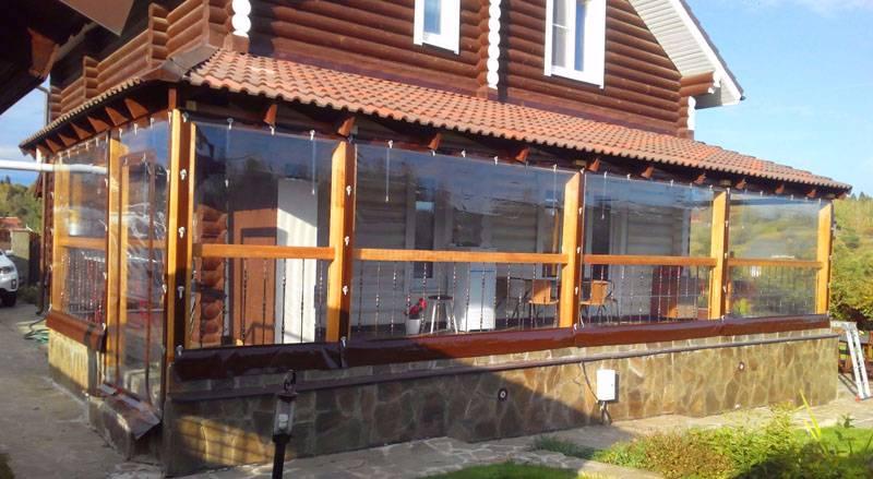 Мягкие окна для террас и беседок: советы, какие лучше купить