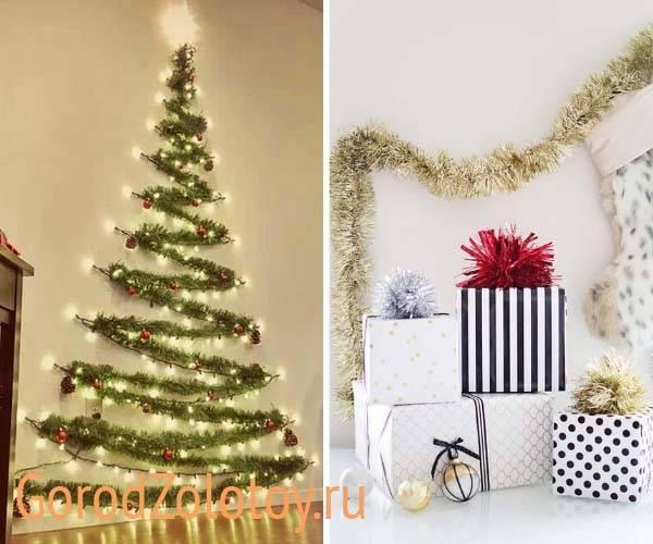 Как украсить фасад дома к новому году своими руками, новогоднее оформление зданий