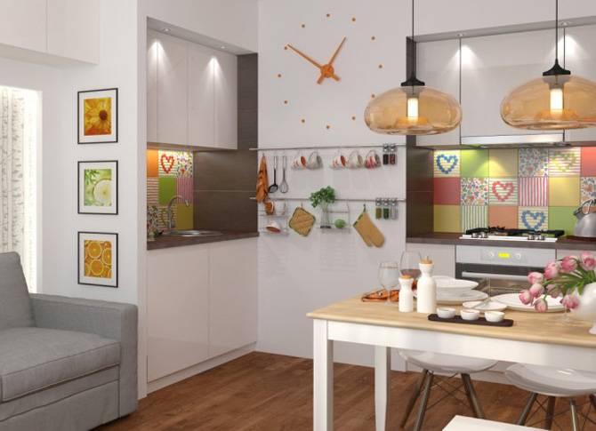 Дизайн кухни площадью 14 кв. м