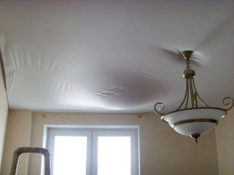 Тканевые натяжные потолки: фото, плюсы и минусы, виды, дизайн, цвет, освещение