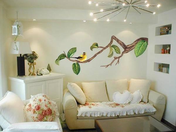 Виды наклеек в детскую комнату на стену: виниловые, большие, плакаты и постеры