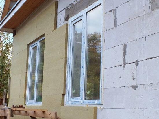 Оригинальная отделка фасада дома из газобетонаоригинальная отделка фасада дома из газобетонных блоков
