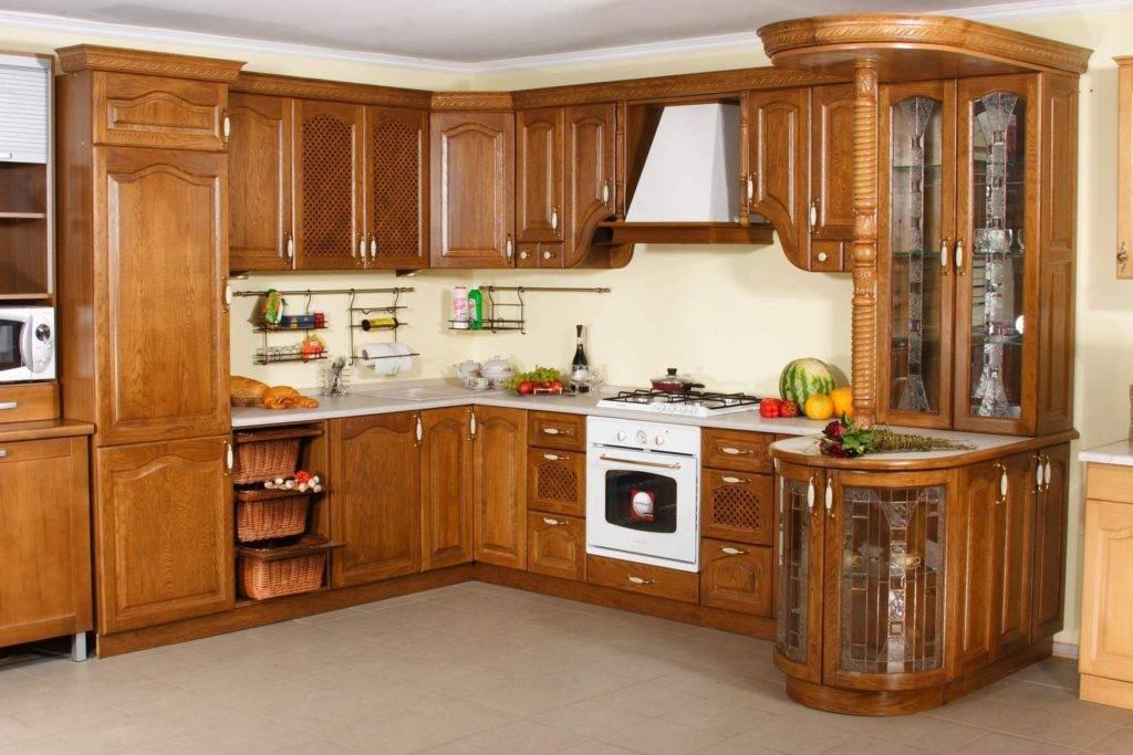 Белая кухня с деревянной столешницей (32 реальных фото) в интерьере