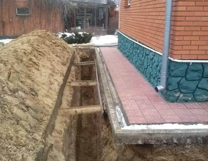 Как сделать дренаж участка на глинистой почве своими руками