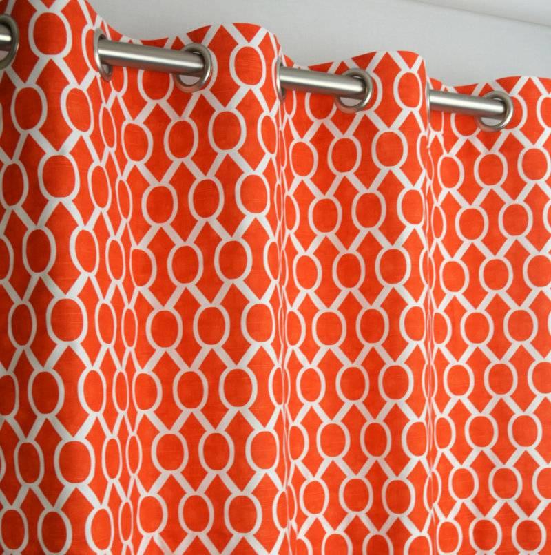 Оранжевый цвет в интерьере разных комнат: сочетание и удачные приемы