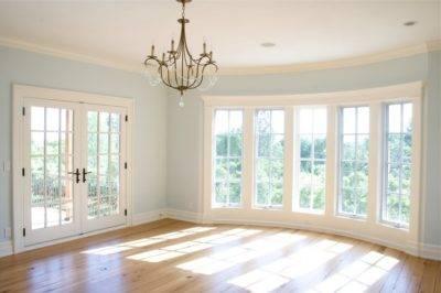 Французские окна, монтаж французских окон, чем и как зашторивать французские окна