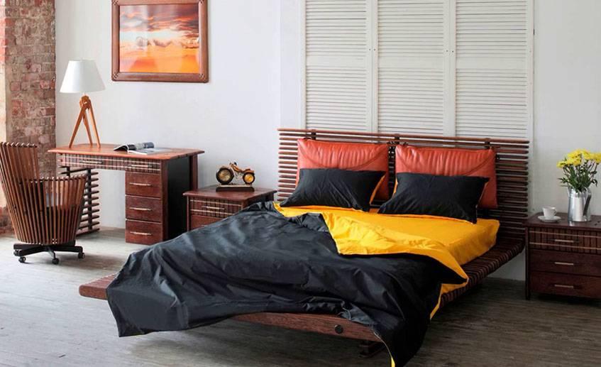 Спальня в японском стиле — воплощение комфорта и спокойствия