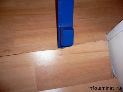 Царапины на ламинате: как убрать в домашних условиях