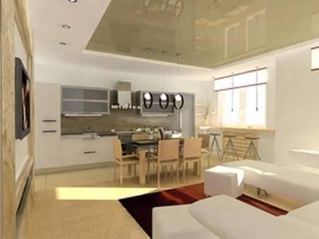 Кухня-гостиная 25 кв. м.: 50 фото дизайна интерьера с зонированием