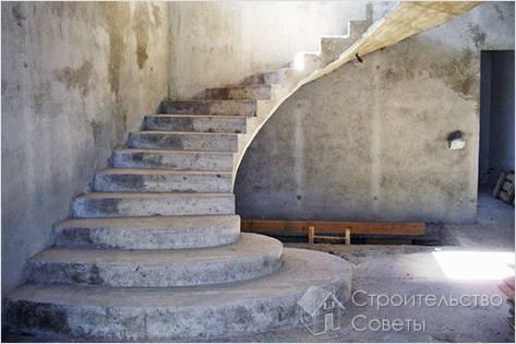 Как залить лестницу из бетона на второй этаж, для крыльца или подвала своими руками