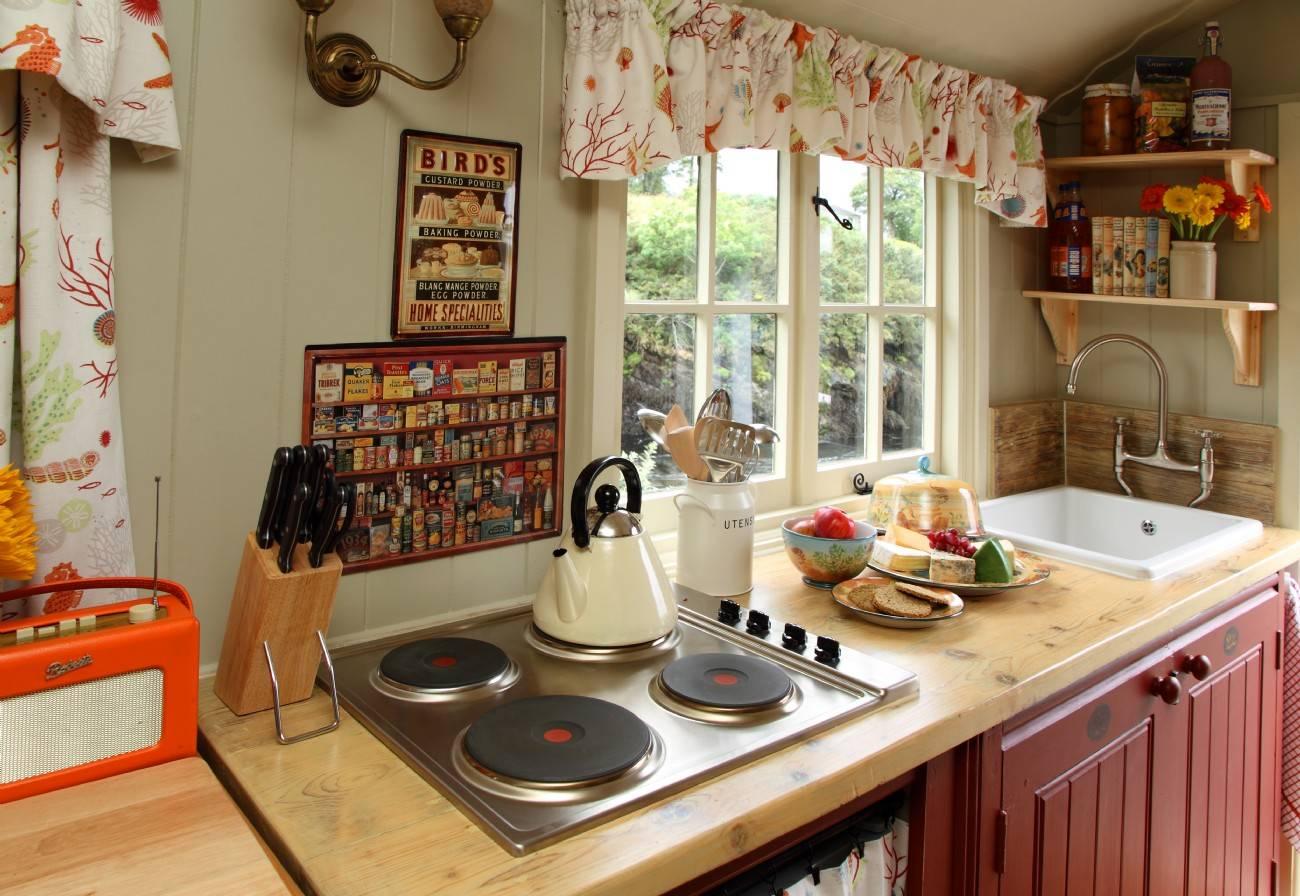 Организация пространства на кухне: правильное оформление кухонного гарнитура