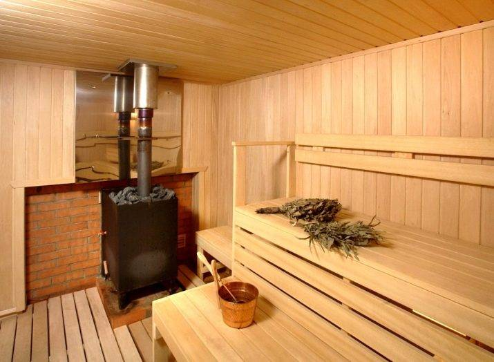 Установка металлической печи в бане по правилам и нормам
