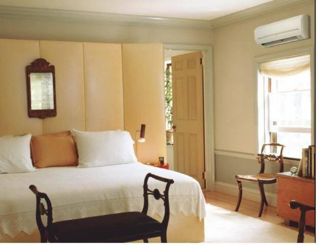 Кондиционеры в спальне (26 фото): где расположить и как правильно установить бесшумные настенные модели? можно ли вешать над кроватью?