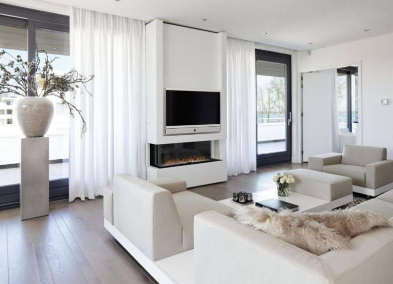 Дизайн гостиной с камином - 47 интерьеров и фото идеи