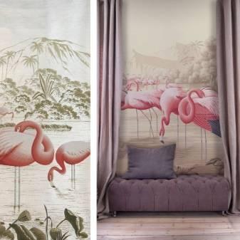 Панно на стену из обоев (36 фото): итальянские виниловые полотна в интерьере гостиной, как сделать правильный выбор, модели в виде цветка