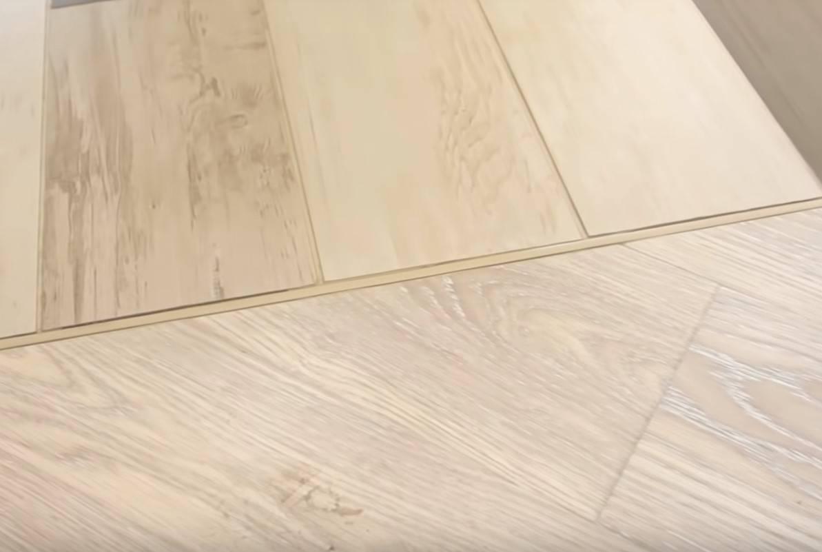 Стык ламината с ламинатом: как выполнить