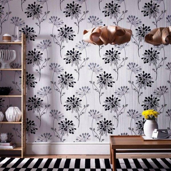 Утонченный и изысканный стиль: используем черные обои в дизайне интерьера