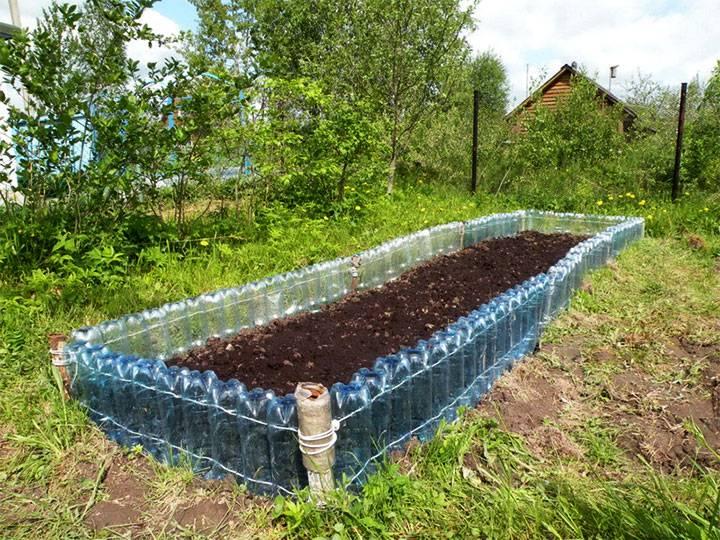 Интересные и полезные поделки из пластиковых бутылок для сада и огорода