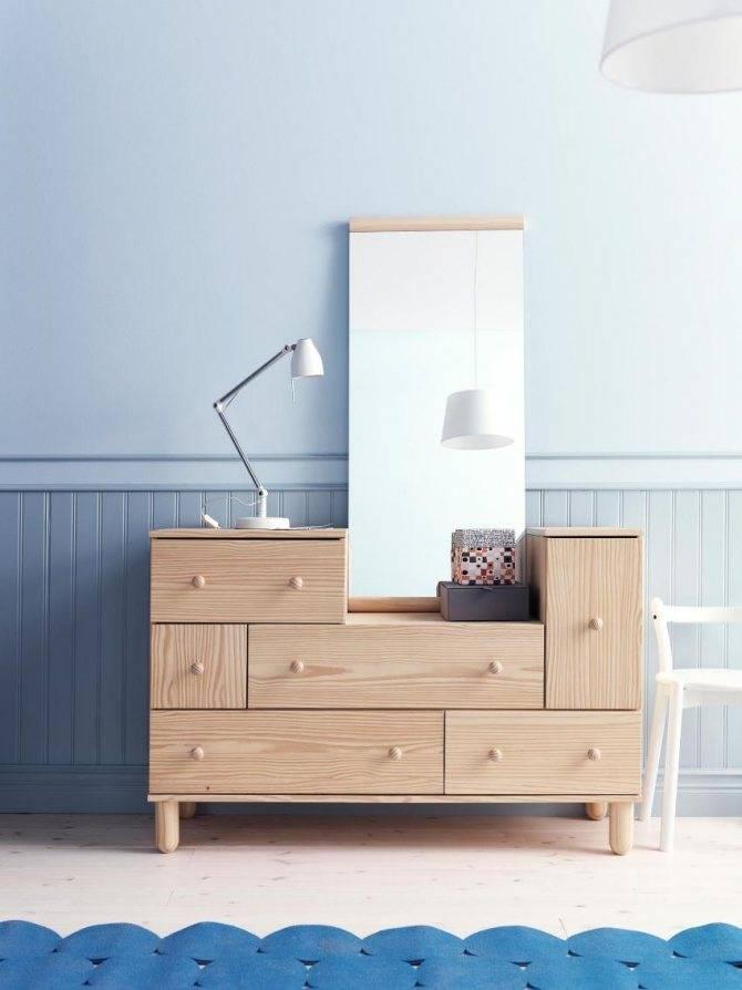 Конструкция комодов для белья в спальню, актуальные стилевые решения