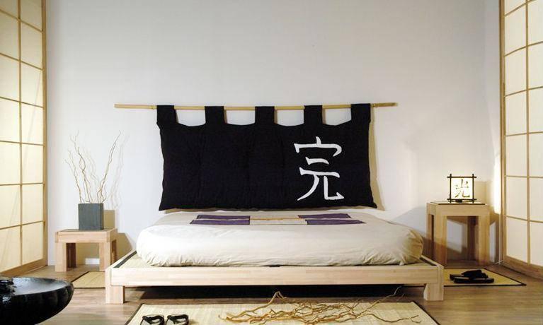 Как оформить спальню в японском стиле: очарование востока в интерьере