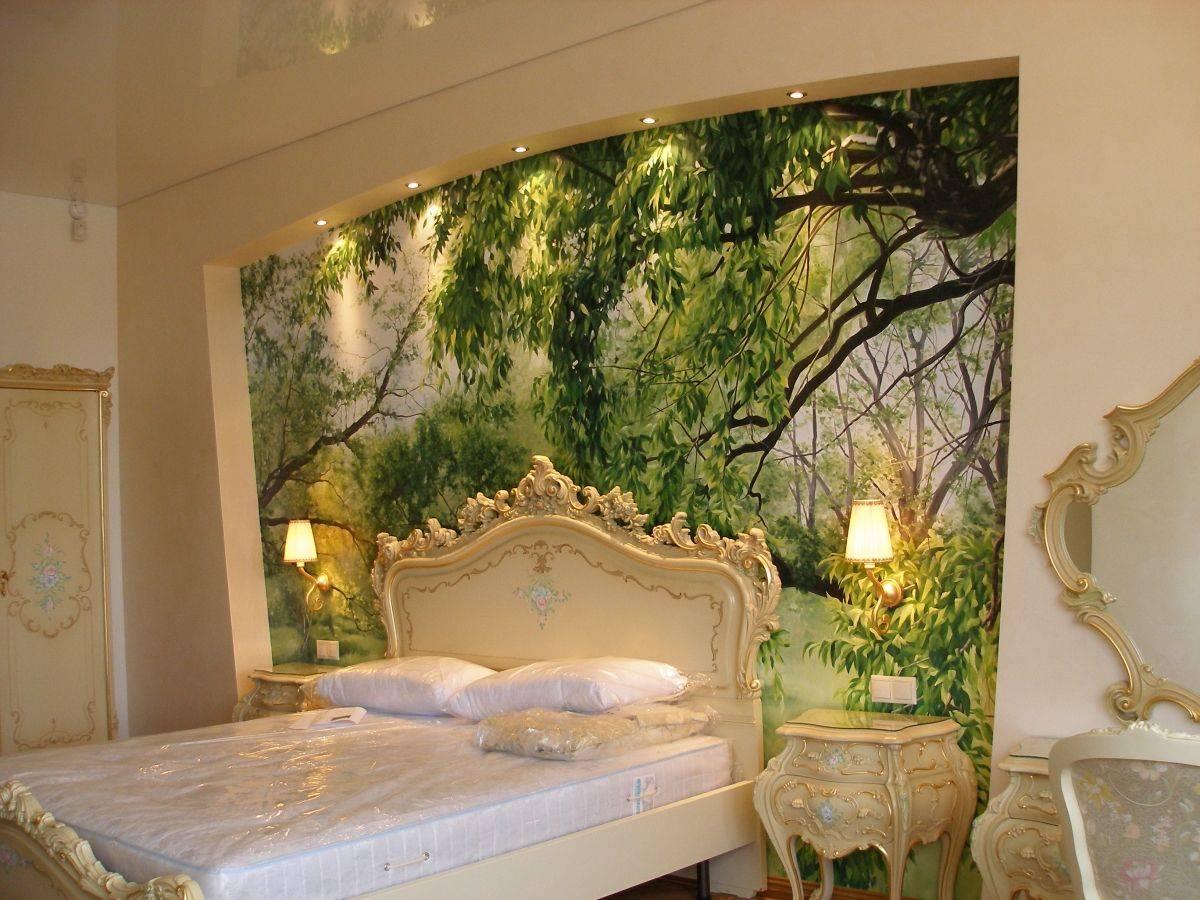Фрески на стену: фотообои и обои, каталог, фото в интерьере кухни, гостиной, спальни, как клеить фреску, виды, текстуры и правила использования