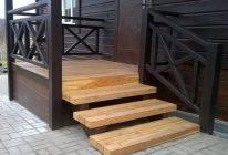 Идеи и способы покраски лестницы в доме на второй этаж