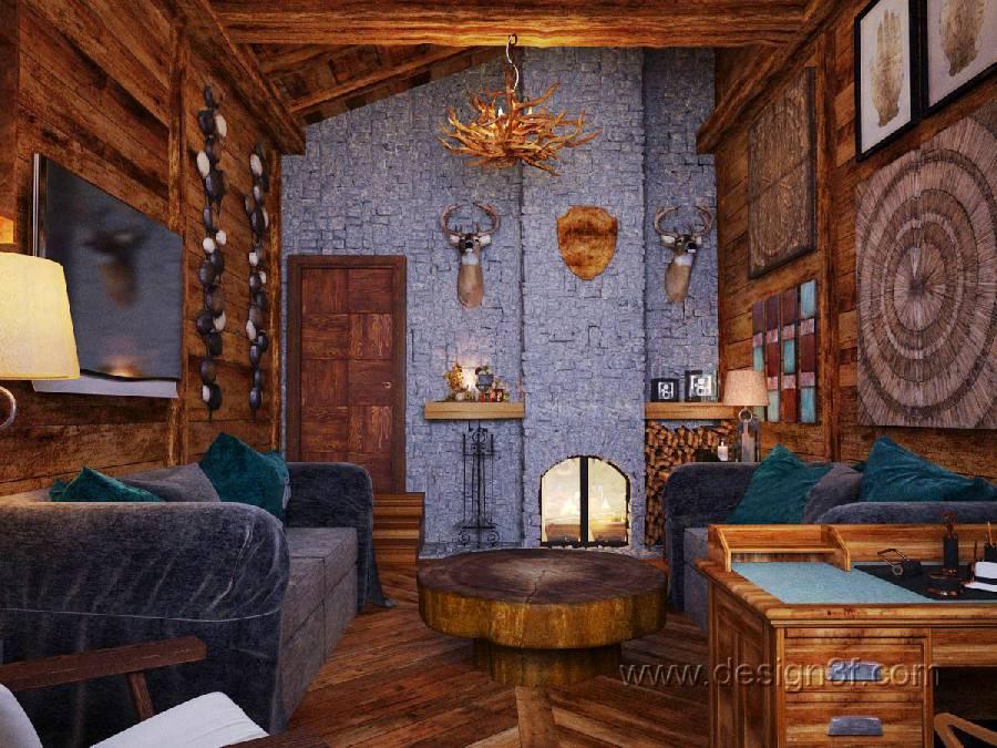 Интерьер в стиле шале: альпийская романтика в современном доме