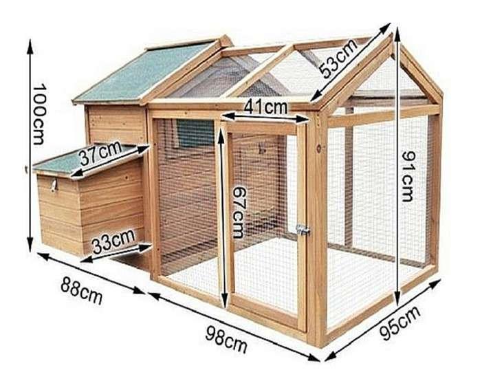 Курятник на 10-20 кур: чертежи материалы утепление вентиляция отопление + размеры - фото