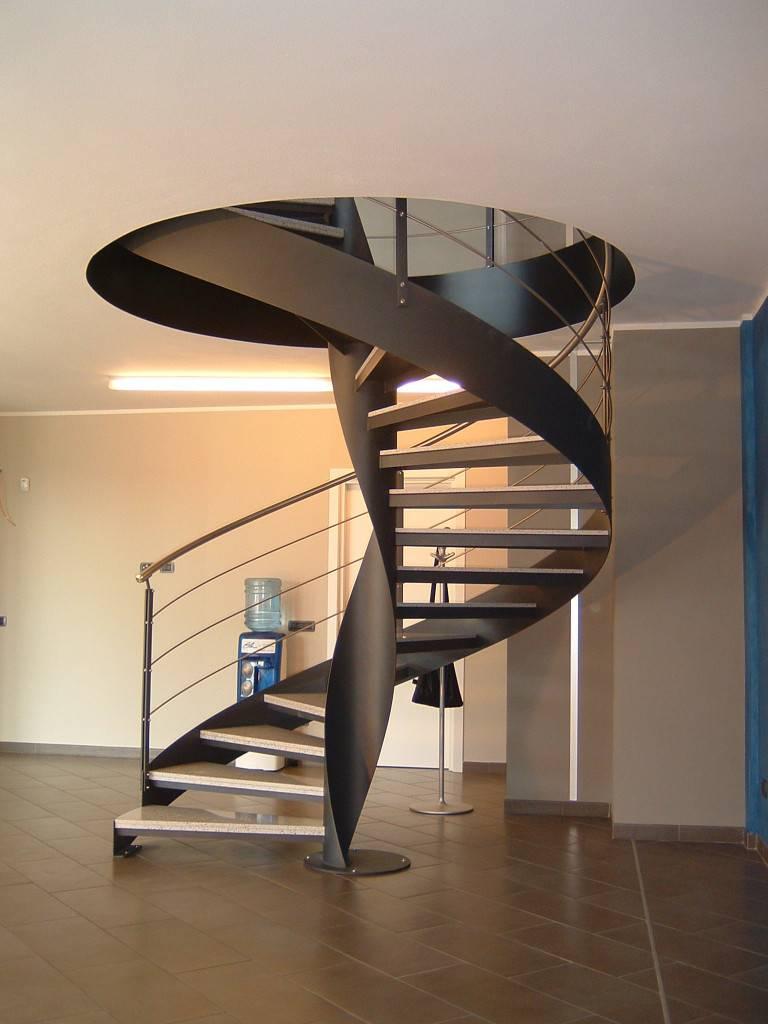Изготовление своими руками винтовой лестницы