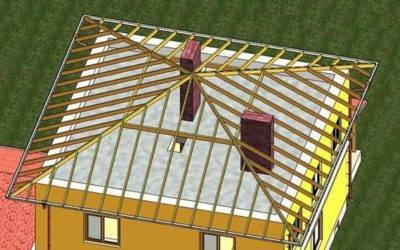 Крыша своими руками четырехскатная - кровля и крыша
