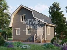 Постройка недорогого каркасного дома