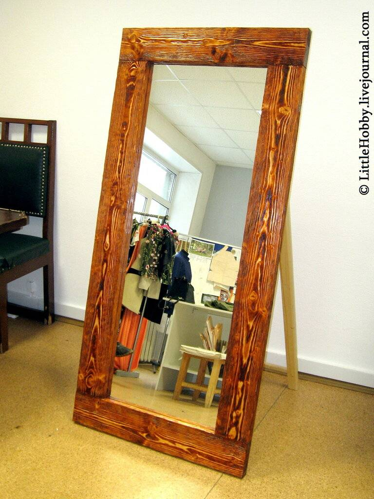 Магия зеркал в интерьере гостиной