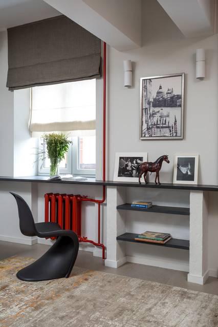Римские шторы в интерьере кухни – гид по выбору (40 фото)