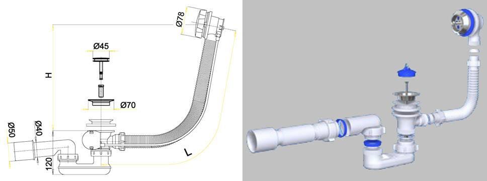 Сифон для раковины (76 фото): выбираем с переливом и бутылочный для умывальника в ванную комнату, размеры и виды