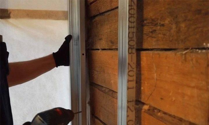 Отделка стен гипсокартоном в деревянном доме (35 фото): как обшить, обшивать своими руками