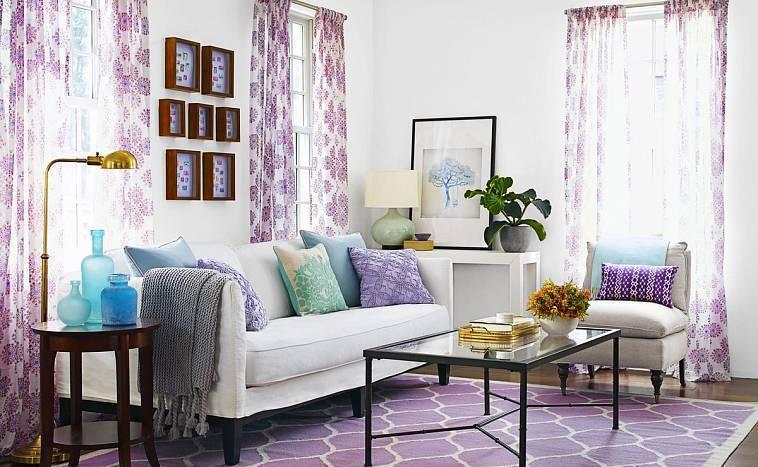 Многоликая эмоциональность фиолетовой спальни