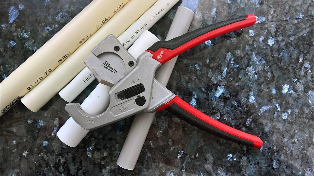 Какие ножницы для полипропиленовых труб лучше выбрать – виды и преимущества