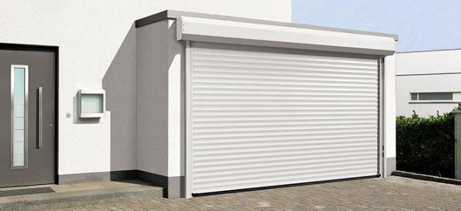 Как сделать гаражные ворота-рольставни своими руками