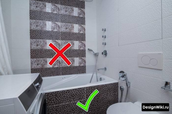 Укладка плитки в ванной своими руками — пошагово как правильно и красиво уложить плитку (125 фото)