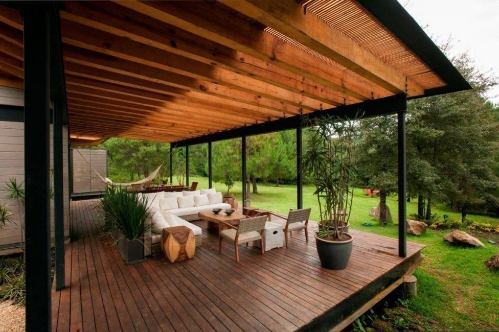 Одноэтажные дачные дома (51 фото): план домика для дачи 6 на 8 м, проекты садовых домов с террасой