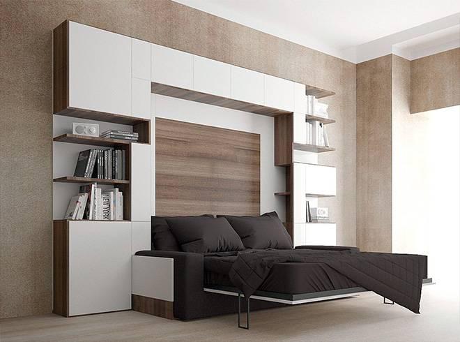 Шкаф кровать трансформер: варианты конструкций, какую купить