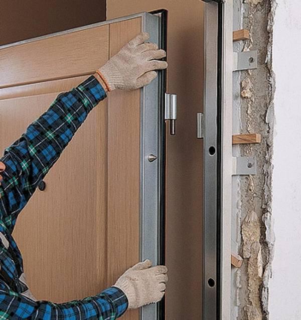 Как собрать дверную коробку и установить двери своими руками