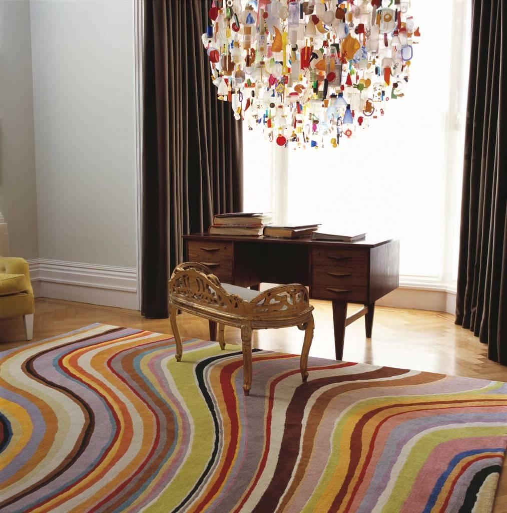 Ковры в интерьере — 127 фото современных идей дизайна с применением ковров