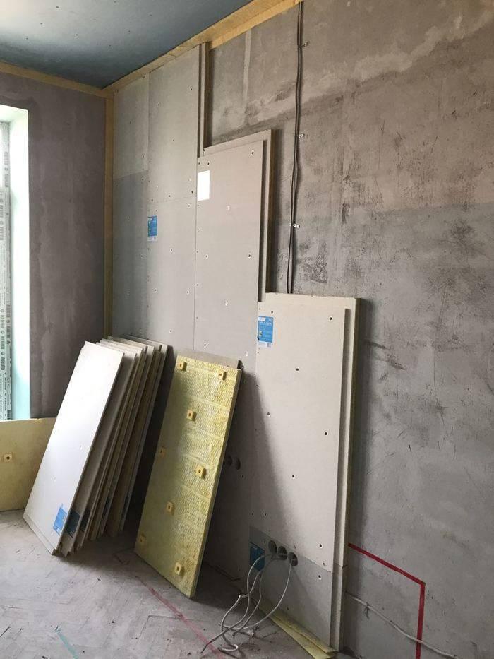 Подложка под обои: шумоизоляция стен современными материалами